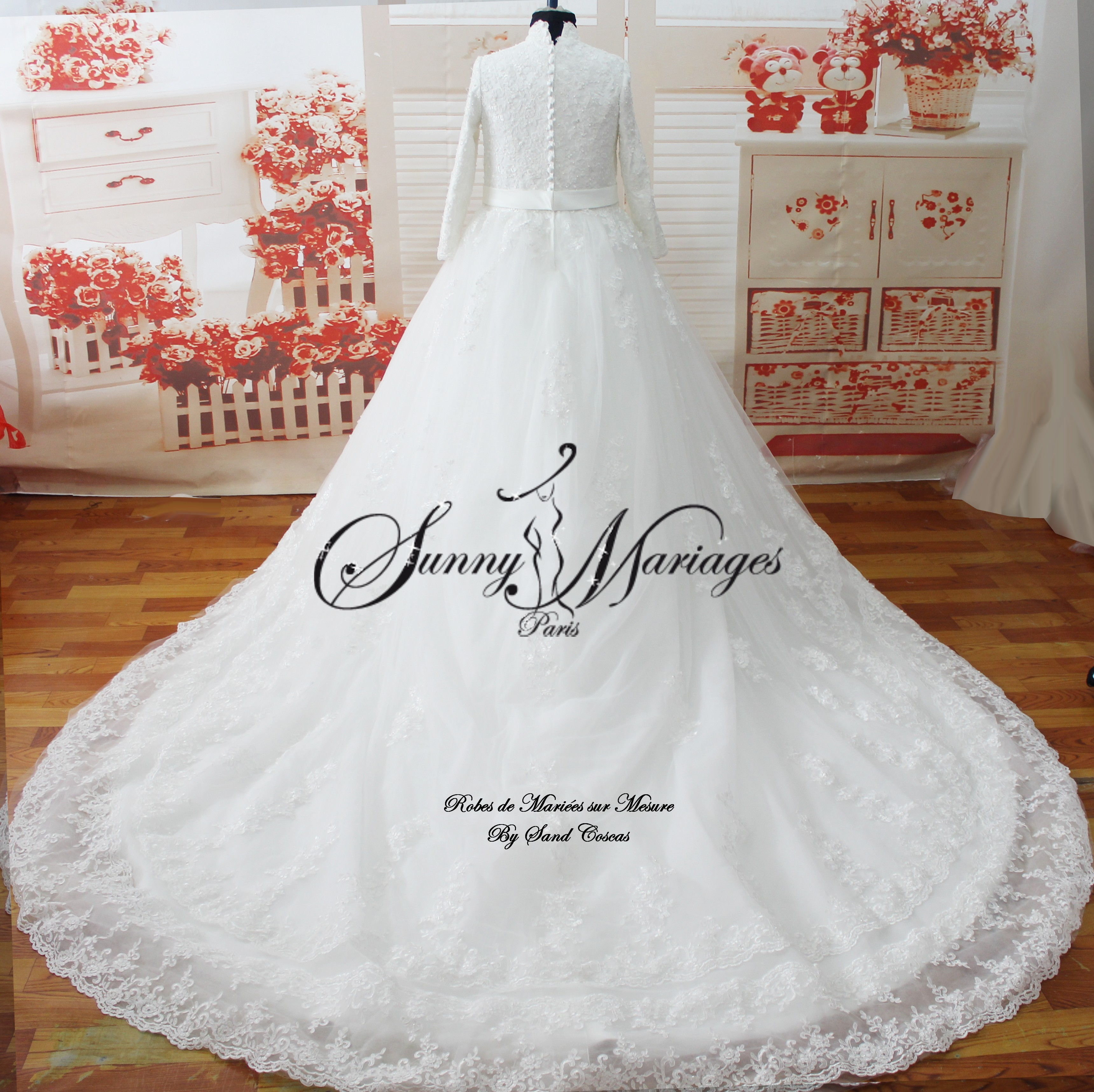 Robe De Mariee Manches Longues Sunny Mariage