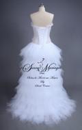robe de mariée - originale - bustier