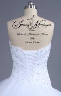 robe de mariée longue et courte Aurye mariage