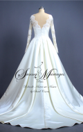 robe de mariée, robe de mariée manche longue,