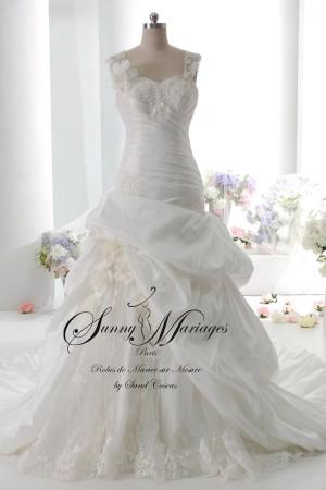 robe de mariée bretelle, robe de mariée