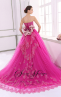 robe de mariée rose, robe de mariée pas cher