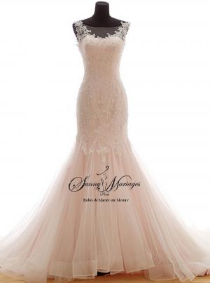 polvo soleada de novia Vestido en rosaBoda OkiZXPuT