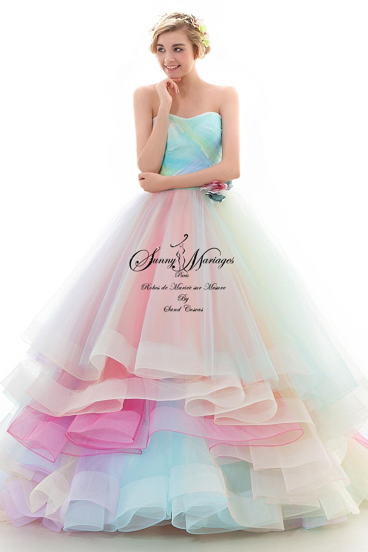 Location robe de mariee couleur