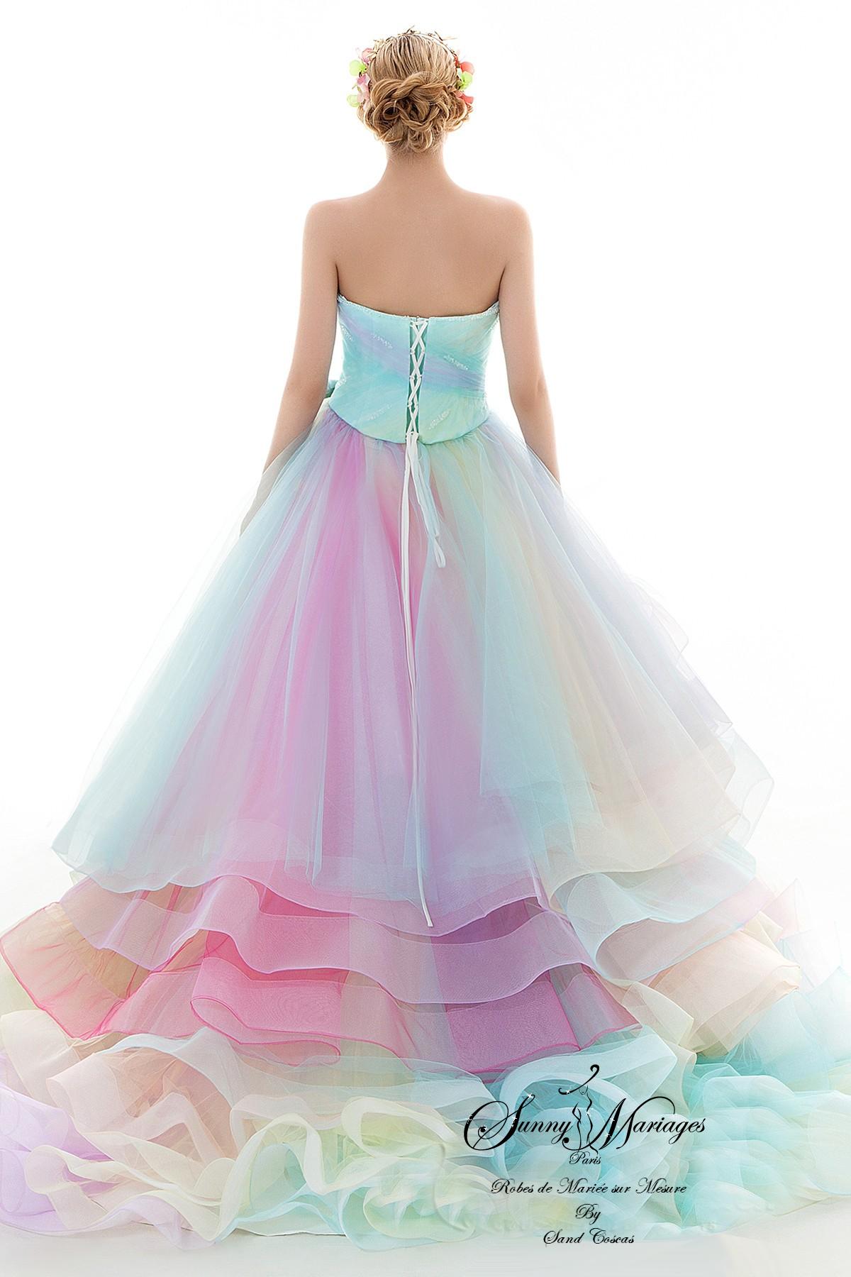 robe de mariée originale collection 2019 Sunny Mariage