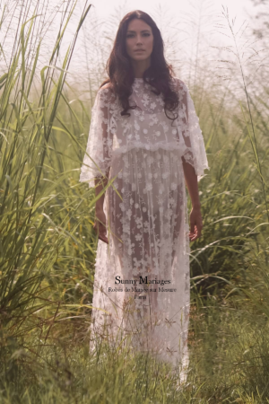 robe de mariée dentelle sur mesure